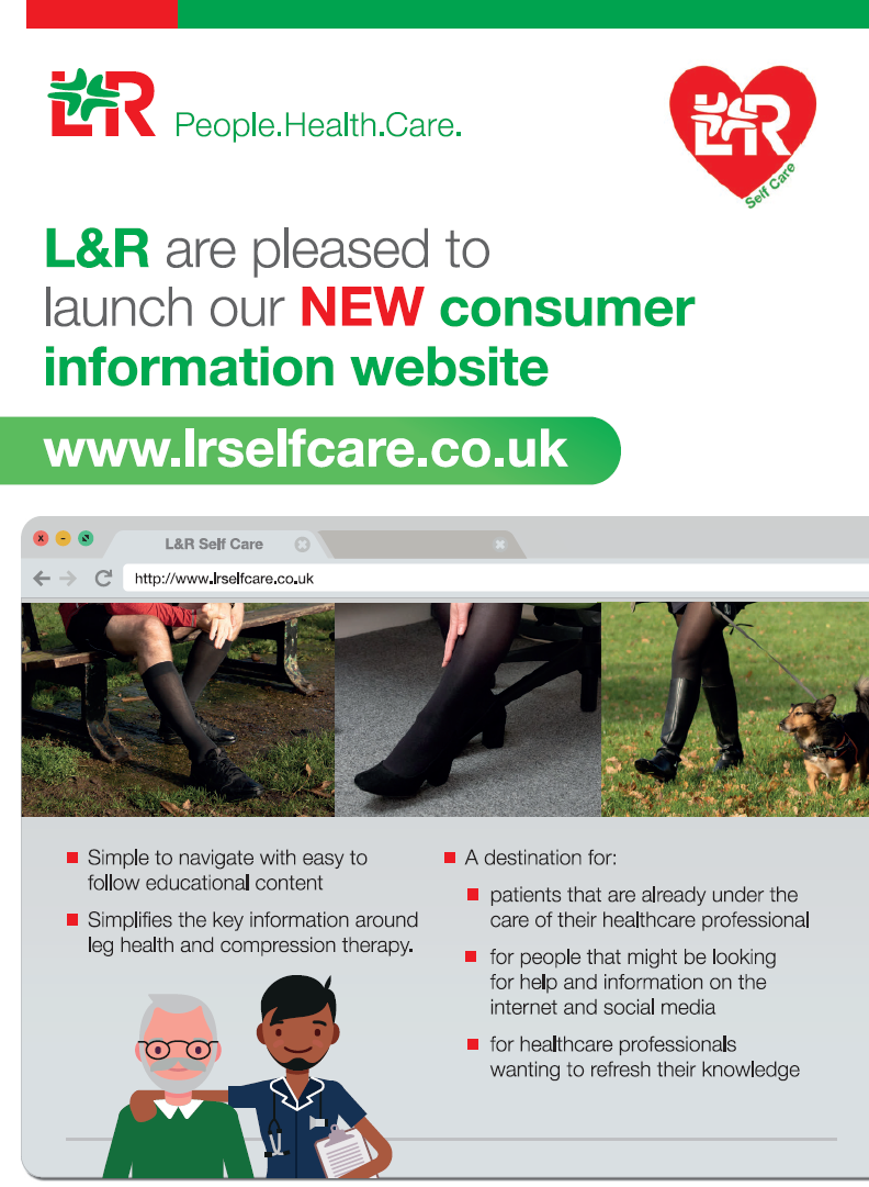 L&R Self Care website - handout / leaflet